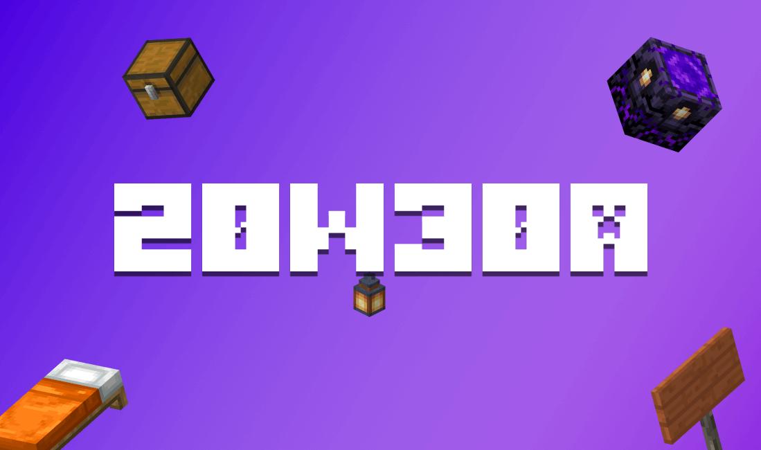 Обзор изменений снапшота 20w30a — Что нового в Minecraft