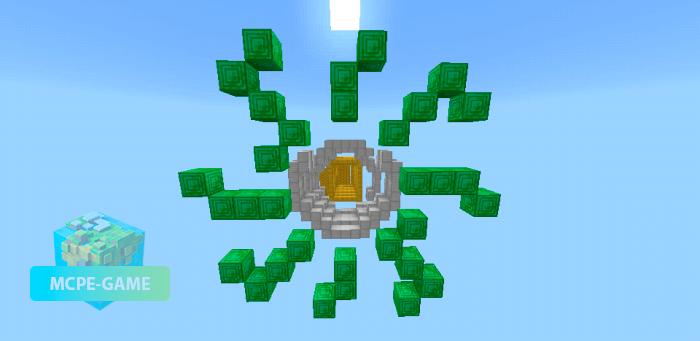 Скачать карту 3D Parkour для Minecraft PE