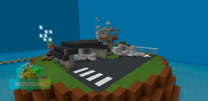 Карта ApexCroc Disasters для мини-игр с друзьями на Майнкрафт ПЕ