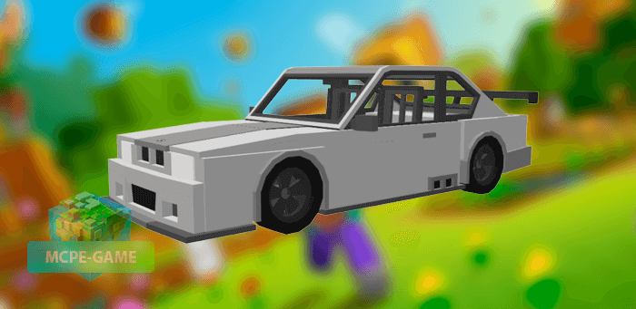 BMW M3 GTR для Майнкрафт ПЕ