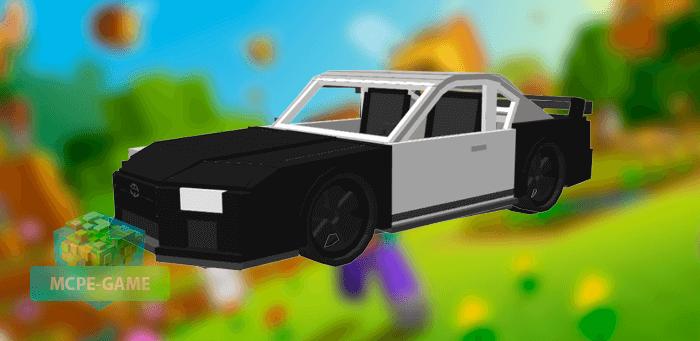 Toyota Supra MK4 для Майнкрафт ПЕ