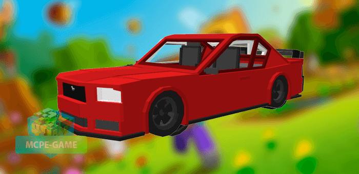 Ford Mustang GT для Майнкрафт ПЕ