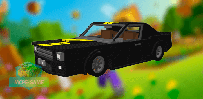 GT500 Eleanor для Майнкрафт ПЕ