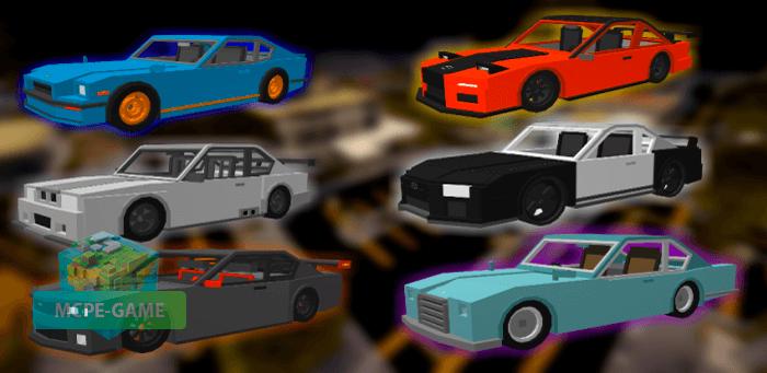 Скачать мод на машины GT для Minecraft PE