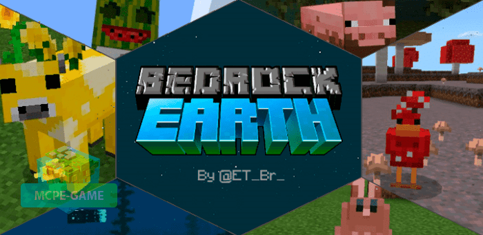 Скачать мод Bedrock Earth для Minecraft PE на Андроид и iOS