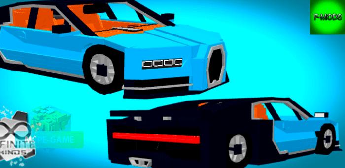 Скачать мод на Bugatti Chiron для Minecraft PE на Андроид и iOS