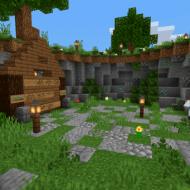 Скачать карту Взаперти для Minecraft PE