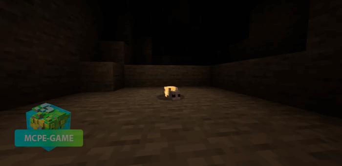 Светлячок из мода Cave Update для Майнкрафт ПЕ