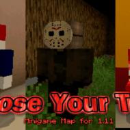 Скачать карту Выбери Свой Страх для Minecraft PE