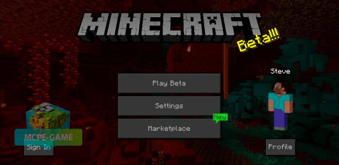 Скачать темный интерфейс для Minecraft PE