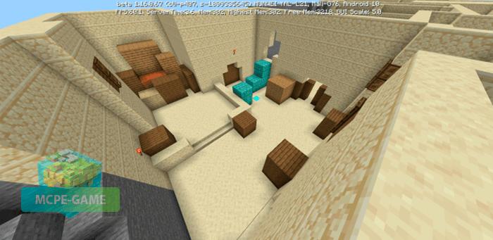 Скачать карту De_Dust2 для Minecraft PE на Андроид и iOS