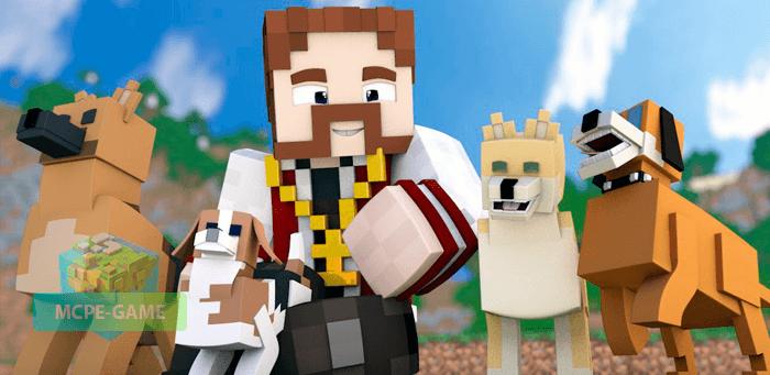 Скачать мод на собак для Minecraft PE на Андроид и iOS