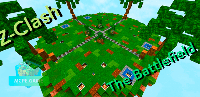 Скачать карту Z-Clash The Endless Zombie Battle для Minecraft PE