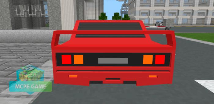 Ferrari F40 для Майнкрафт ПЕ
