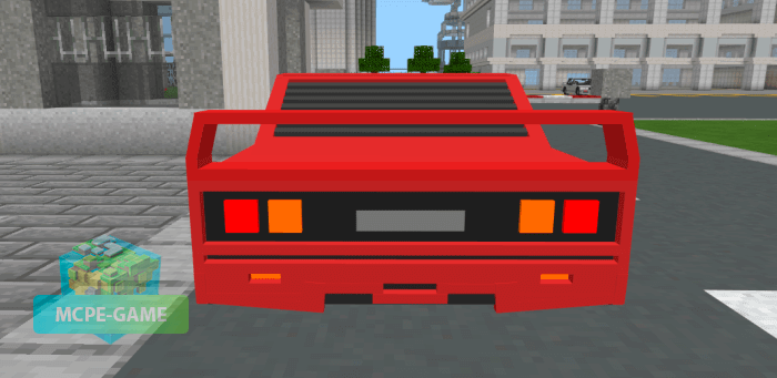 Ferrari F40 for Minecraft PE