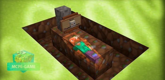 Скачать мод Graves для Minecraft PE на Андроид и iOS
