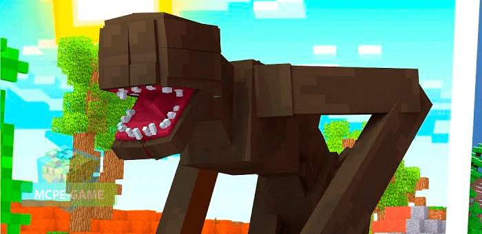 Monsters from the Humanoid Terrors mod for Minecraft PE