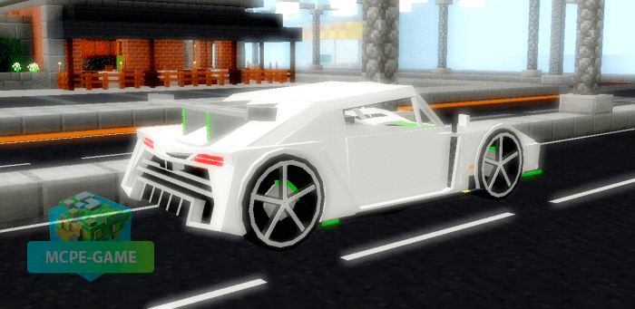 Мод на суперкар Jesko для Minecraft PE