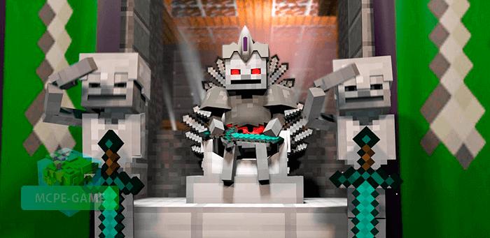 Скачать мод King Mobs для Minecraft PE