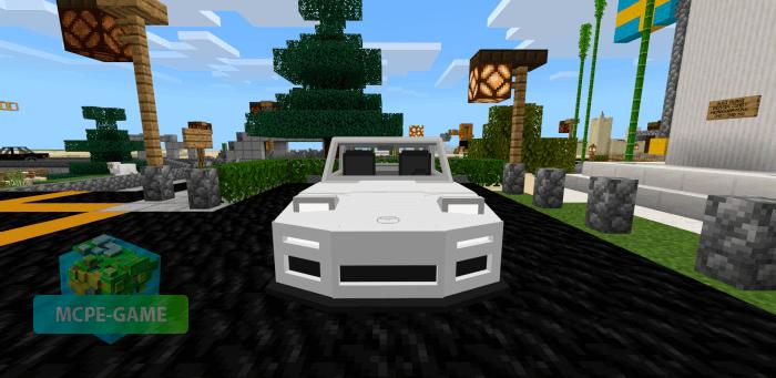 Мод на Mazda RX7 FD для Майнкрафт ПЕ