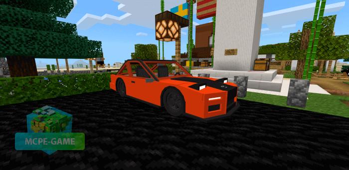 Скачать мод Mazda RX7 FD для Minecraft PE на Андроид и iOS
