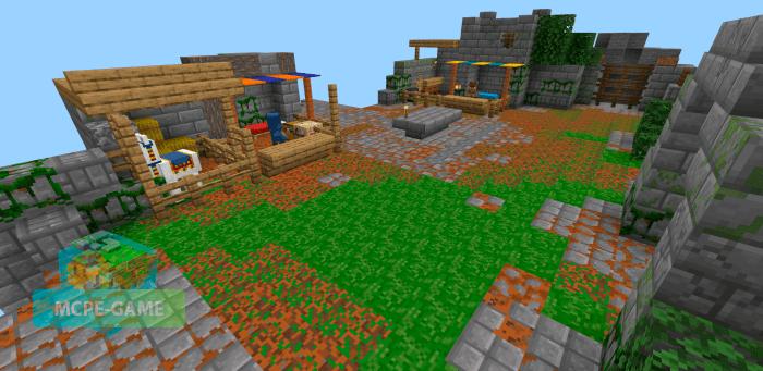 Скачать мод Minecraft Dungeons Recreation для Майнкрафт ПЕ