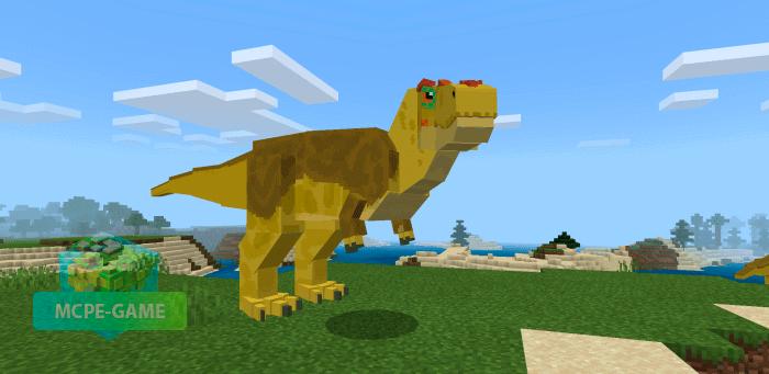 Тиранозавр Рекс в Майнкрафт ПЕ