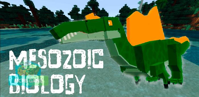 Скачать мод Mesozoic Biology для Minecraft PE