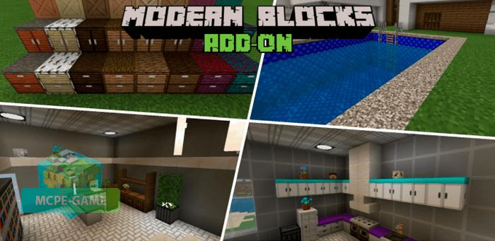 Скачать мод Modern Blocks для Minecraft PE на Андроид и iOS