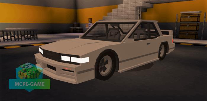 Nissan Silvia S13 для Майнкрафт ПЕ