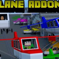 Скачать мод на самолеты для Minecraft PE