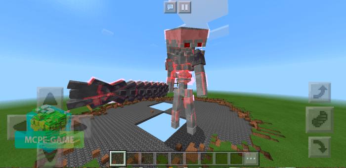 Скачать мод Prime Skeleton для Minecraft PE