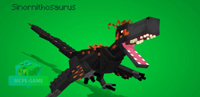 Синорнитозавр в Майнкрафт ПЕ