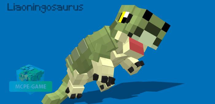 Ляонингазавр в Майнкрафт ПЕ