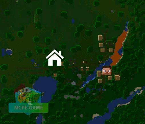 Вид на местность сверху