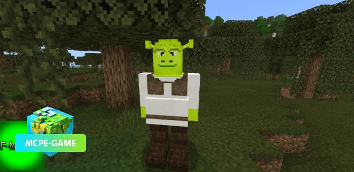 Скачать мод на Шрека на Minecraft PE