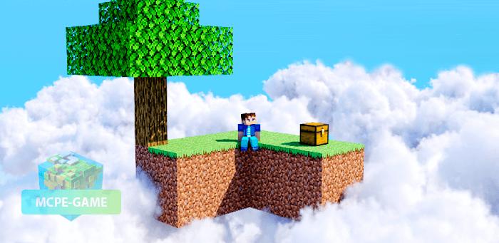 Скачать карту Skyblock Classic для Minecraft PE
