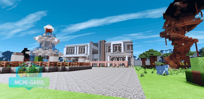 Скачать карту Special Modern House на Minecraft PE на Андроид и iOS