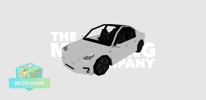 Tesla Model 3 на Майнкрафт ПЕ
