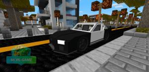 Мод Тойота Супра для Майнкрафт ПЕ