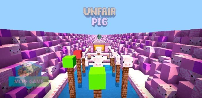 Скачать карту Unfair Pig для Майнкрафт ПЕ на Андроид и iOS