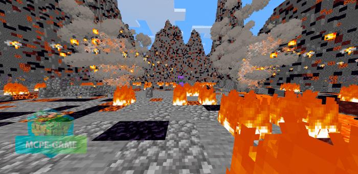 Скачать мод Volcanic Emperor для Minecraft PE на Андроид и iOS