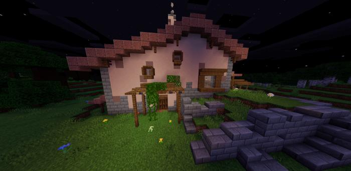Скачать карту домик Зельды для Minecraft PE