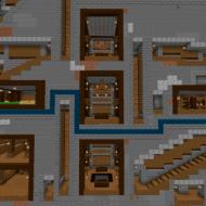 Скачать карту Zombie Invasion на прятки для Minecraft PE