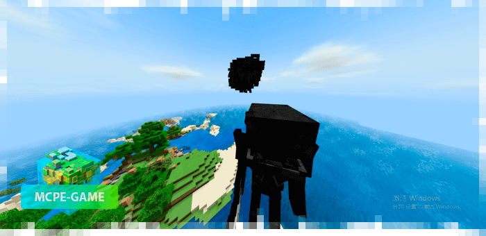 Battle with the new Minecraft boss - Ash Titan