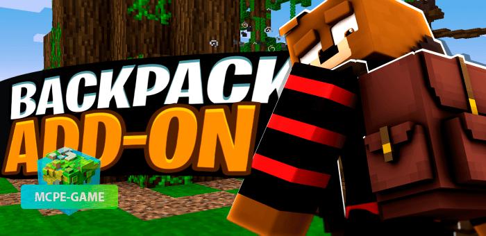 Backpacks — Мод на рюкзаки для Minecraft PE