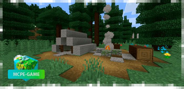 Новые структуры и постройки — Палаточный лагерь