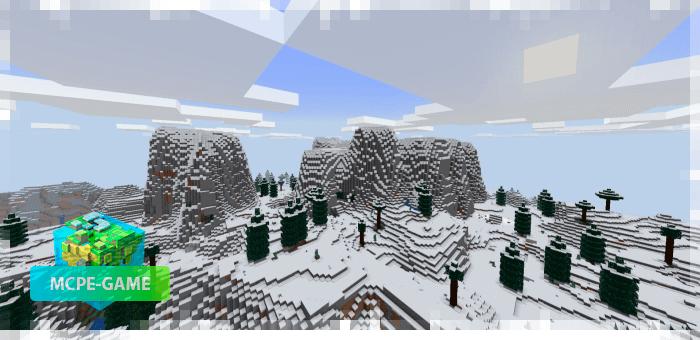 Новый биом Альпы