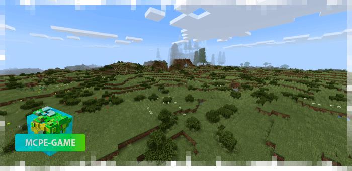 Новый биом Кустарники