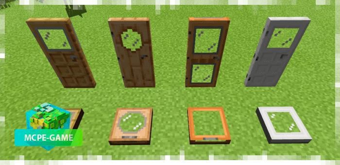 Новые блоки из текстурпака City Life на Майнкрафт ПЕ